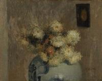 vase de fleurs by walter vaes