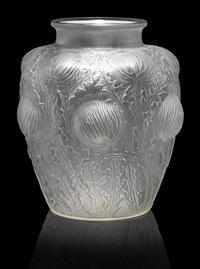 vase: domremy by rené lalique