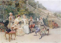 entertaining the ladies by josé llaneces