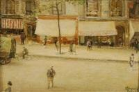 avenue de clichy by maurice dupuis