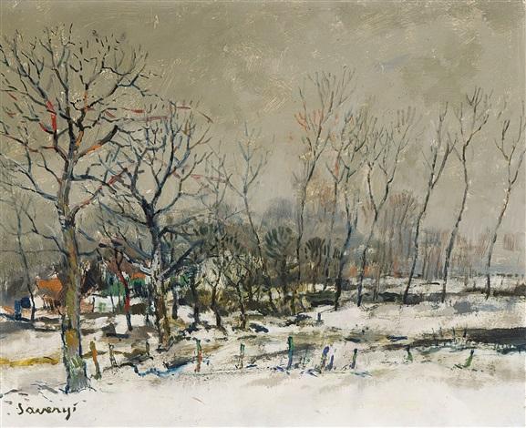hiver by albert saverys