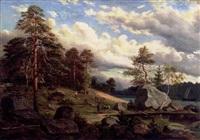 landskap från viborgstrakten by adolf hasselblatt
