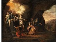 die drei marien vor dem leeren grab christi by adriaen verdoel