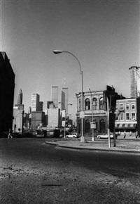 mauvais silence. les deux tours à manhattan. new york by francis apesteguy
