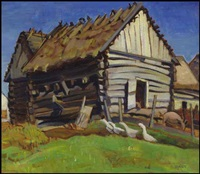 the log barn by kathleen daly pepper