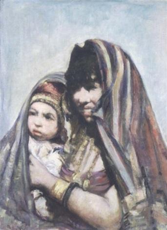 mère et fille by romualdo locatelli