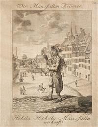 darstellungen nürnberger ausrufer (set of 11) by ambrosius gabler