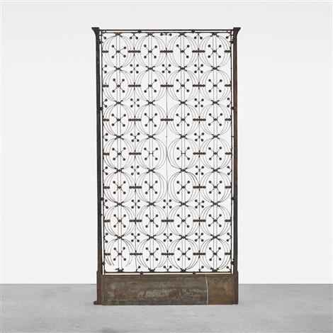 Elevator Door From The Chicago Stock Exchange By Dankmar Adler And Louis  Sullivan
