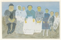 immigrant family by ben shahn