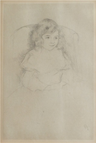 sarah smiling by mary cassatt