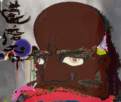 initiate the speed of cerebral synapseat free will by takashi murakami