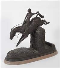 caballo polo bronce by antonio coello de portugal