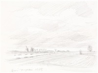 paysage de sion by andré jacquemin