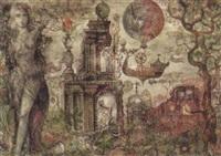 phantastische stadtansicht by michael coudenhove-kalergi