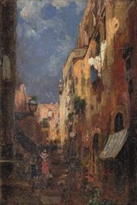 vicolo di napoli by giuseppe amisani