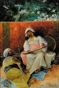 scena orientalista by antonio rivas