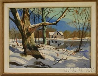 spring thaw (vermont?) by john pike
