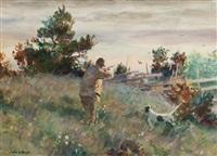 quail shooting by john whorf