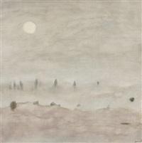 brouillard matinal. période des soleils by paul ackermann