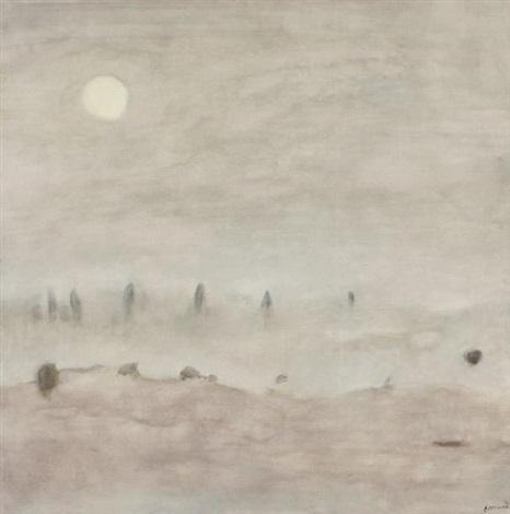 brouillard matinal période des soleils by paul ackermann