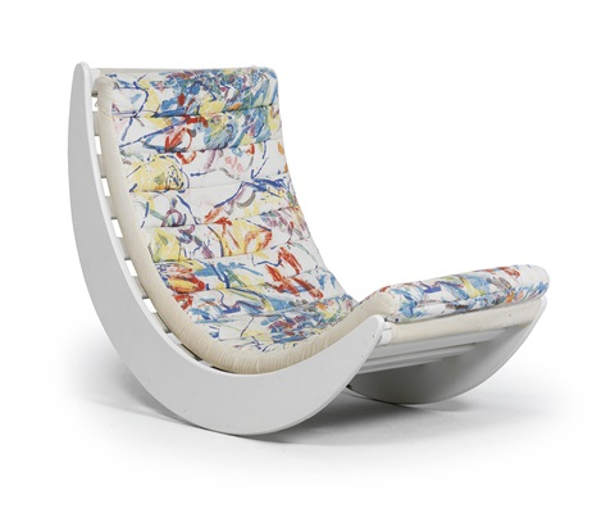 Miraculous Relax 2 Rocking Chair By Verner Panton On Artnet Customarchery Wood Chair Design Ideas Customarcherynet