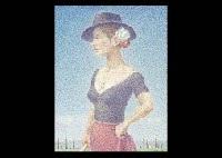 woman with hat by yoshihiko yamada