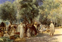 marche en kabylie by louis joseph anthonissen