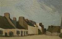 maisons bretonnes by maurice le scouézec
