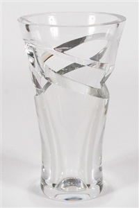 architecture vase by baccarat