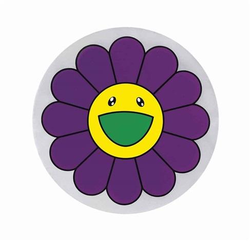 flower of joy - violet by takashi murakami