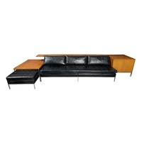 sofa unit, designed s by harvey probber