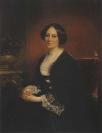 portrait de femme by eugène quesnet
