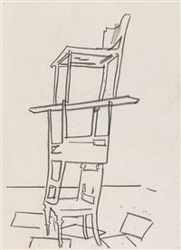 ohne titel (zeichnung) by matthias weischer