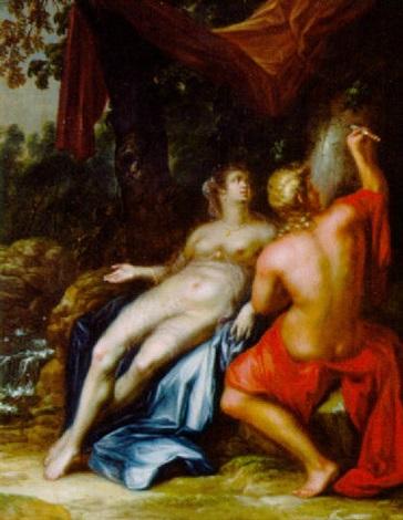 angelica und medoro by ottmar elliger the elder