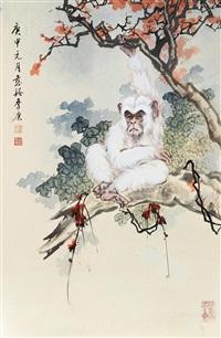 红树白猿 by ji kang
