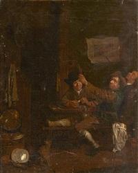 scène de taverne by egbert van heemskerk