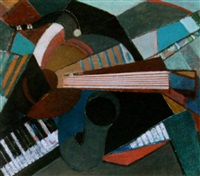 musical still life by wim motz