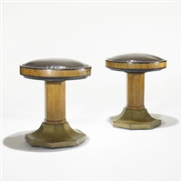 stools (pair) by j. & j. herrmann
