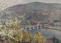 heidelberg by ferdinand otto leiber
