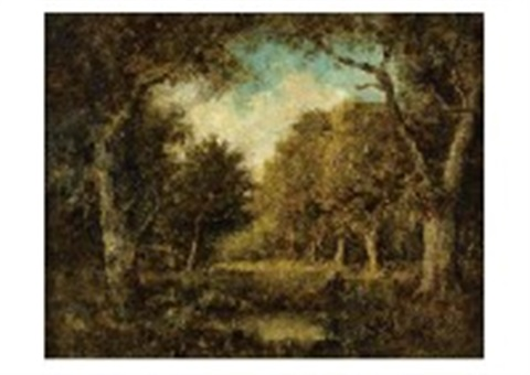 forest landscape by narcisse virgile diaz de la peña