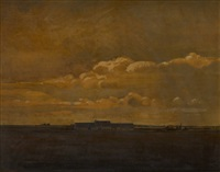 paysage à vlisseghem by joseph albert