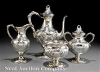coffee service (set of 4) by a.g. schultz & co.