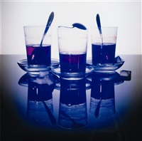 untitled (tea glasses) by piotr uklanski