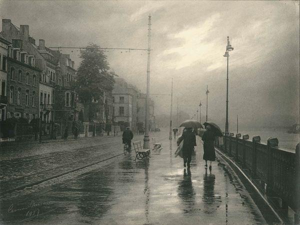 pluie à namur belgique by léonard misonne