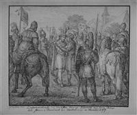 zusammenkunft des deutschen königs albrecht mit könig philipp by florian grospietsch