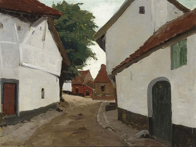 Oude Huizen In De Maasstraat Te Urmond Limburg By Willem Witjens On