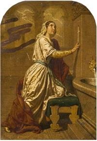 sainte rosalie by jean-baptiste auguste leloir