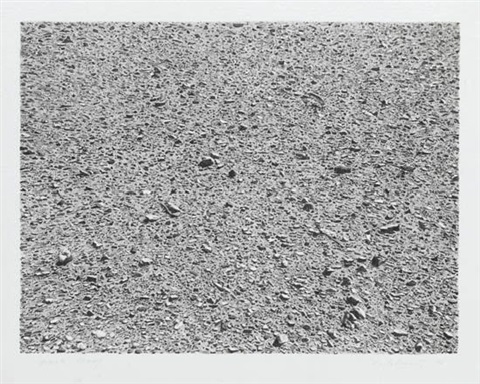 untitled portfolio desert by vija celmins