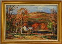 fall landscape by vladimir pavlosky
