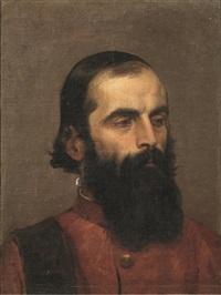 testa di senatore veneziano by francesco hayez